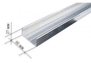 размеры профиля алюминиевого под сайдинг