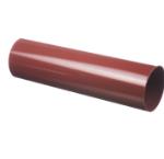 водосточная труба деке красного цвета