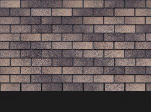 Гибкая битумная фасадная плитка Docke Premium BRICK Вагаси
